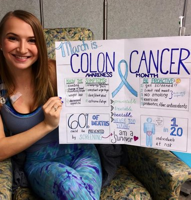 22-Year-Old Colon Cancer Survivor, from Hampton Bays, Shares Personal Battle on Dr. Oz Sho Post Image