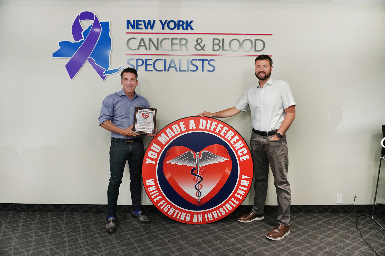 New York Cancer & Blood Specialists Awards Frontline Heroes Post Image